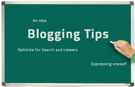 top blogging tips