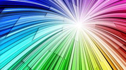 Radial-Rainbow