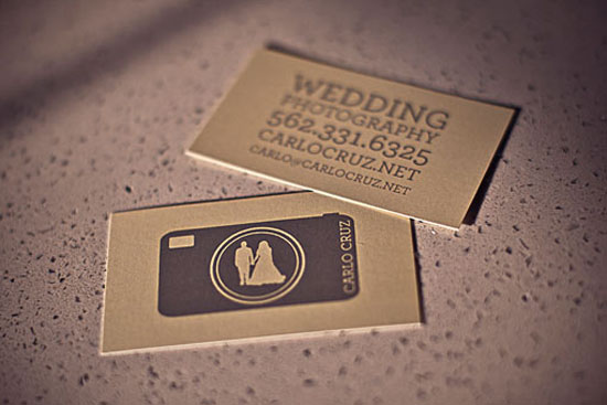 Wedding Photography card