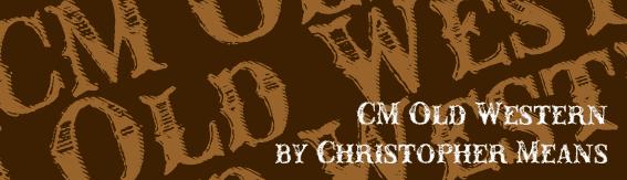 CM Old Western Font