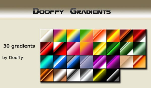 Original Photoshop Gradients