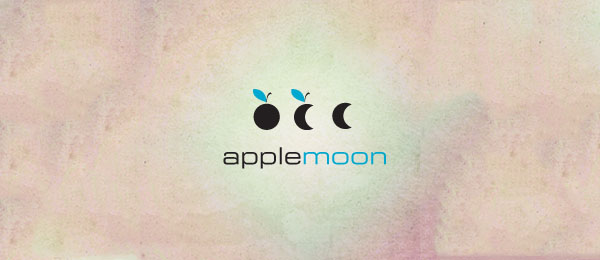 Apple Moon logo