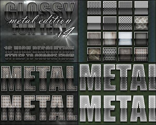Glossy Metal Styles