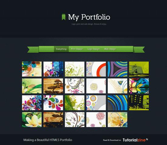 Making a Beautiful HTML5 Portfolio