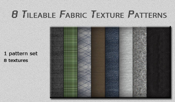 Tileable Fabric Texture Patterns