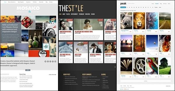 WordPress-grid-themes