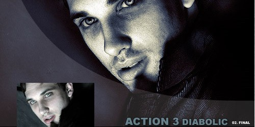 diabolic photoshop actions