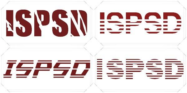 free striped fonts