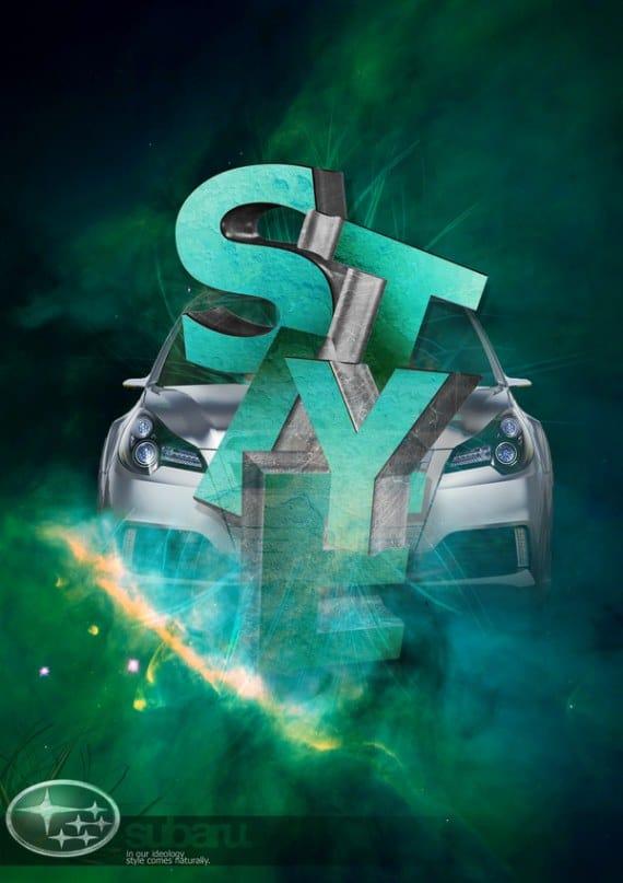 Subaru Car Advert