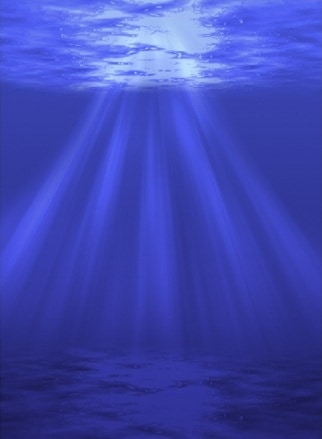 Create an Underwater Scene with Sunrays