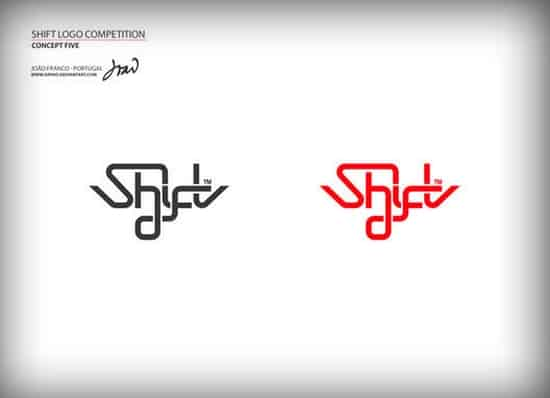 typography logo design competition