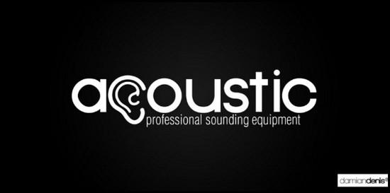acoustic logo design inspiration