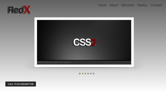 17 redX HTML5 and CSS3 Template