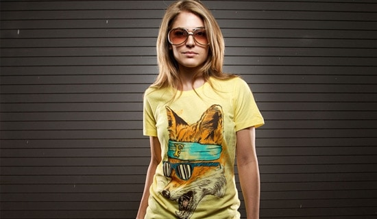 Foxy-2-beautiful-tshirt-designs