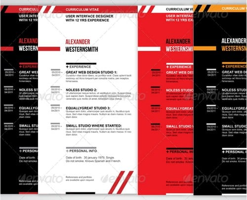 modern and professional resume template examples 19