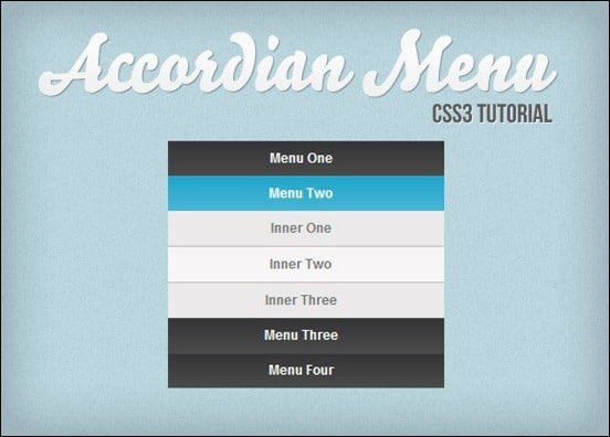 vertical-accordion-menu-using-css3