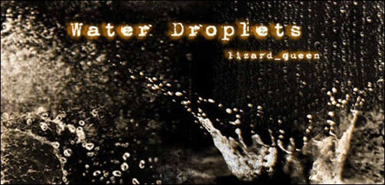 water-droplets