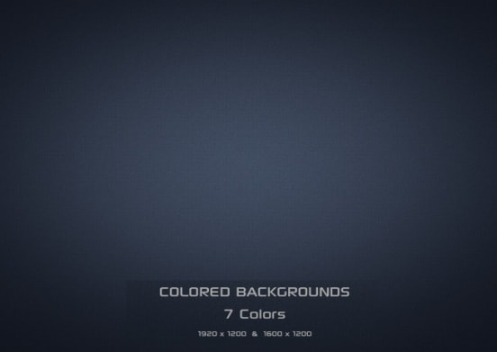 7 Colored Backgrounds
