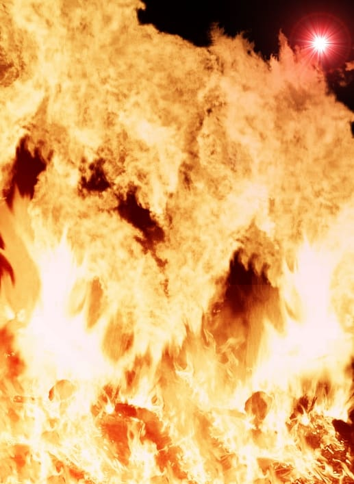 Firey Background