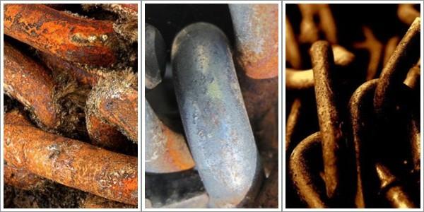 High Resolution Chain Textures