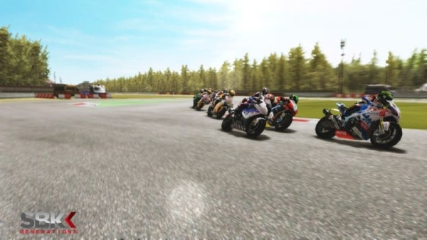 SBK Generations bike racing 2012