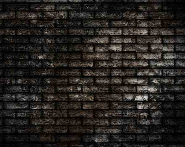 grunge brick-wall background