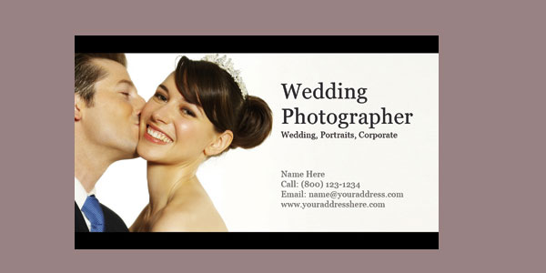 10+ Nice Free Photography Business Cards