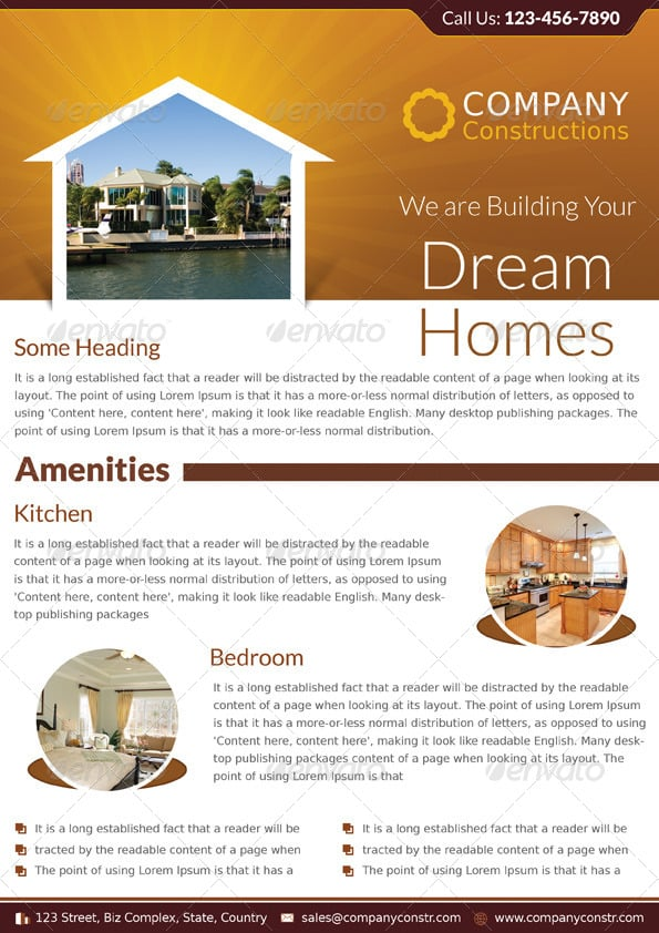Dream Home Real Estate Corporate Flyer