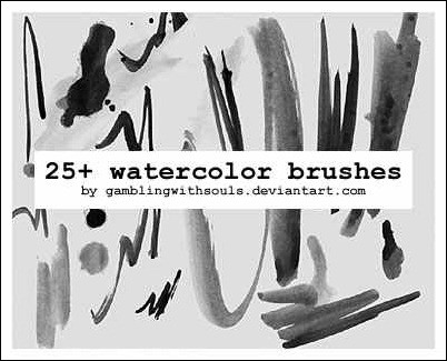25-watercolor-brushes