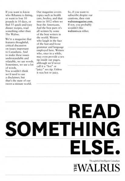 Read-creative-advertisements