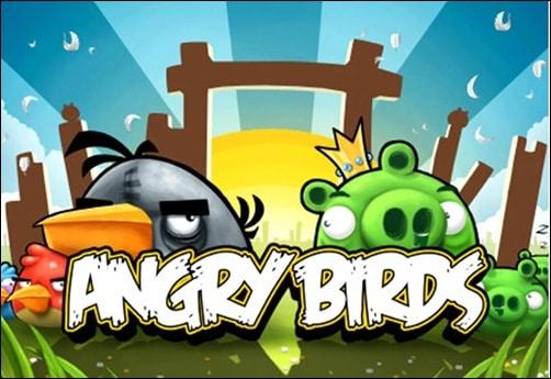 Angry birds addictive facebook games