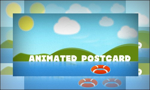 Animated Postcard