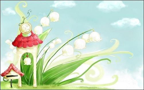 Bellflower-in-Spring-spring-wallpaper