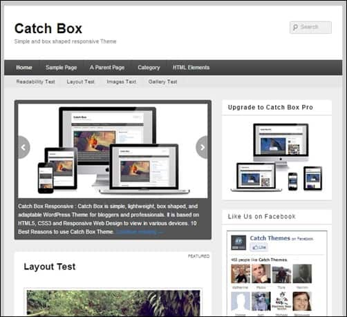 Catch-Box simple wordpress themes