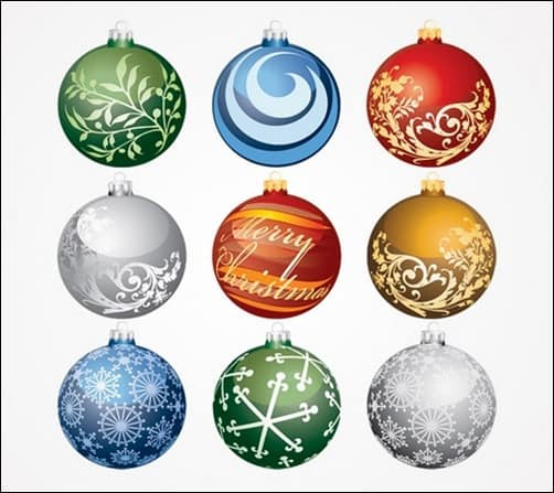Christmas-Balls-Ornaments-Vector-Set