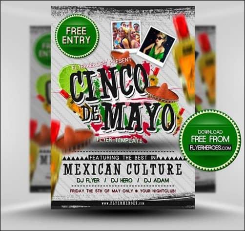 Cinco-de-Mayo flyer templates