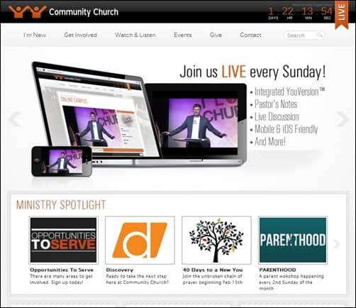Community-Church-church-websites