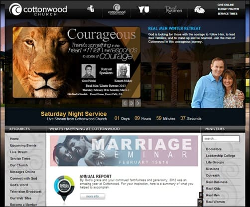 Cottonwood-Church-church-websites