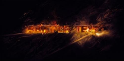 Create-Burning-Typography-with-Sparkles-Effect-in-Photoshop