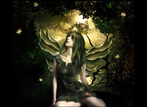 Fairy-wallpapers-black-wallpaper