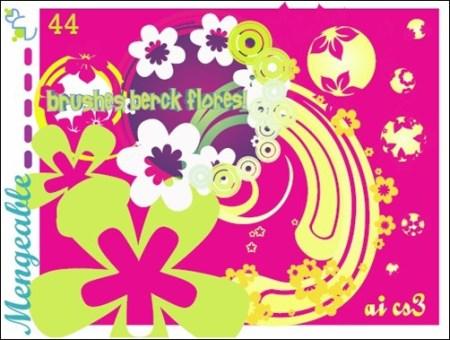 Flores-1-illustrator-brush
