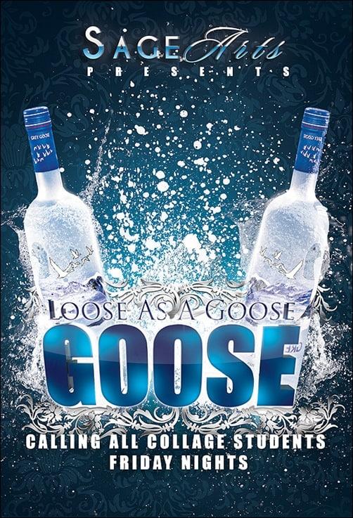 Flyer__Loose_As_A_Goose flyer templates
