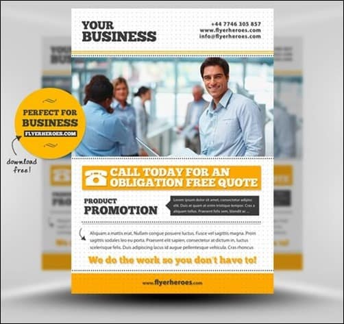 Free-Business flyer templates