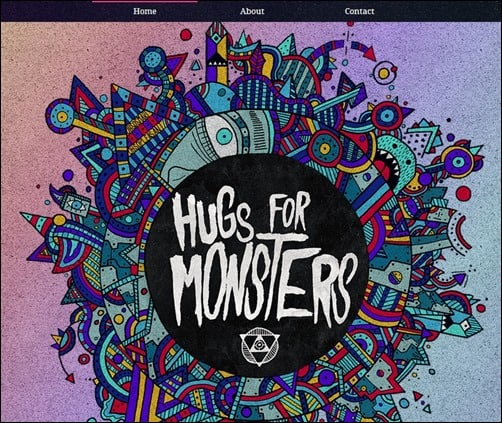 Hugs-for-Monsters-web-designs