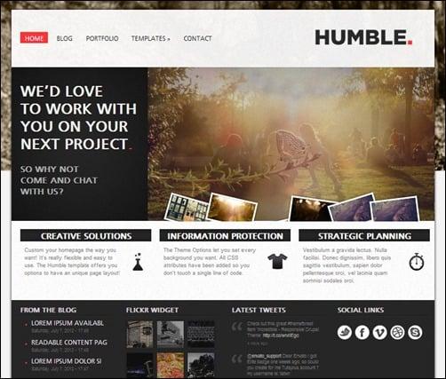 Humble-Drupal-7-themes