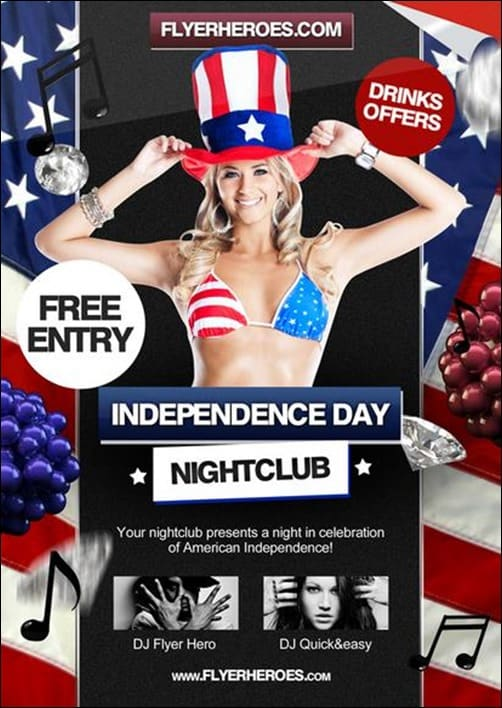 Independence-Day flyer templates