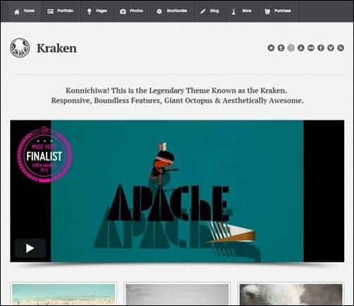 Kraken-simple-wordpress-themes
