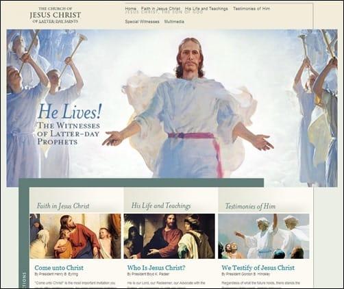 Latter-Day-Saints-church-websites