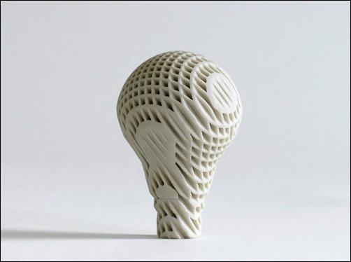 Lightbulb-art-sculptures