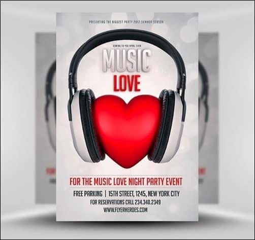 Music-Love flyer templates